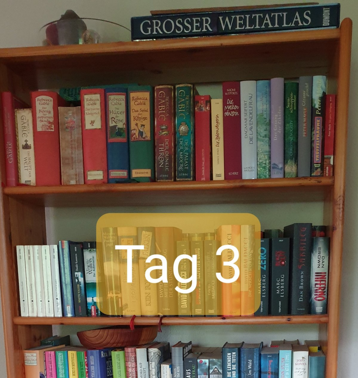 30 Days Book Challenge – Tag 3