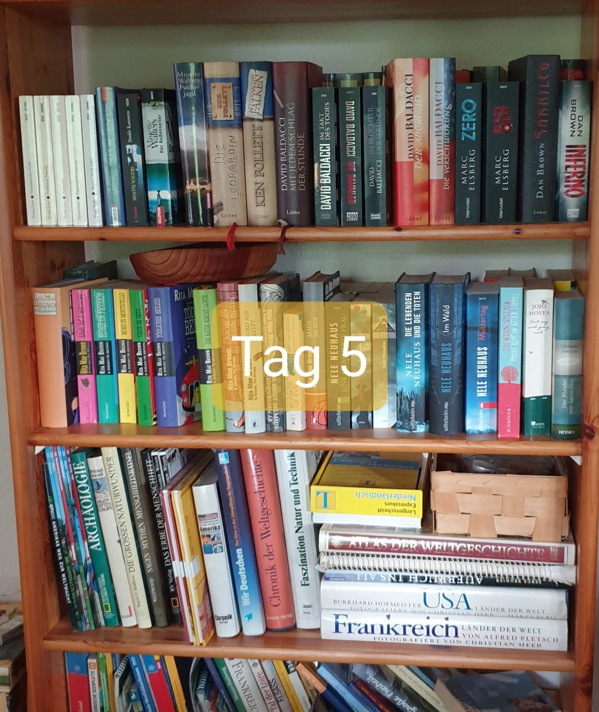 30 Days Book Challenge – Tag 5