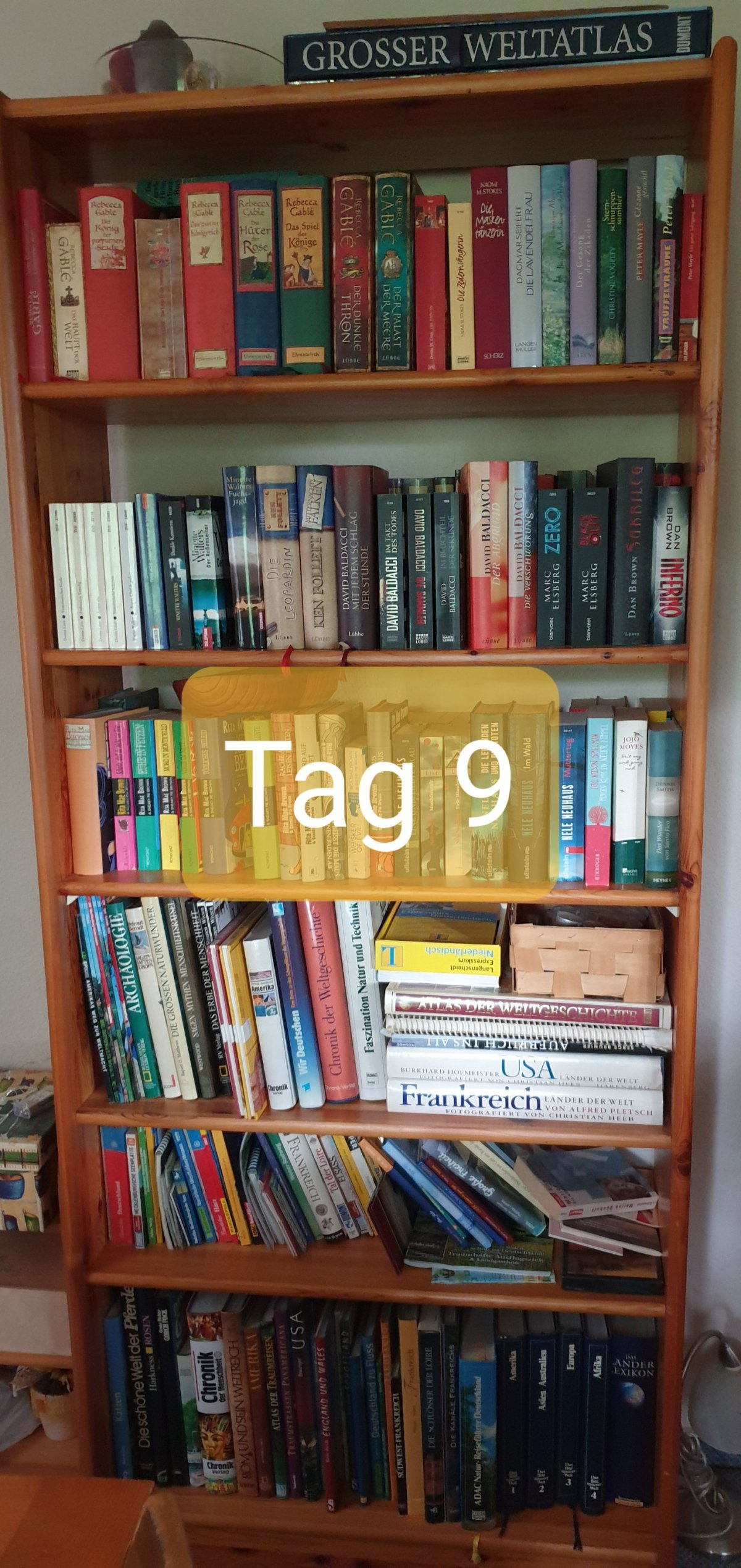 30 Days Book Challenge – Tag 9
