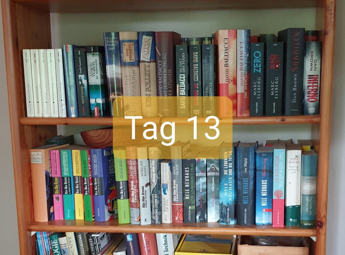 30 Days Book Challenge – Tag13