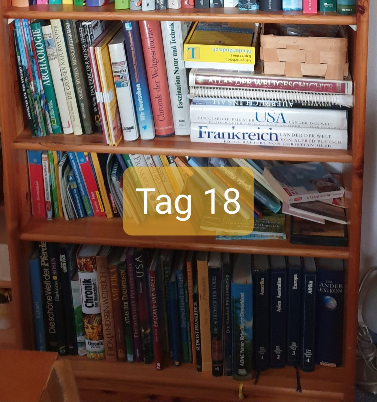 30 Days Book Challenge – Tag 18