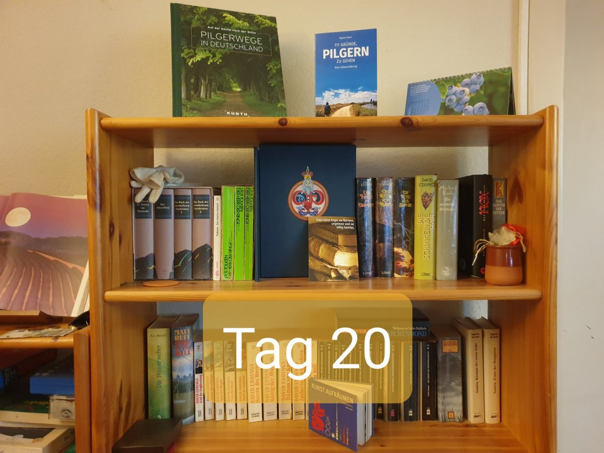 30 Days Book Challenge – Tag 20