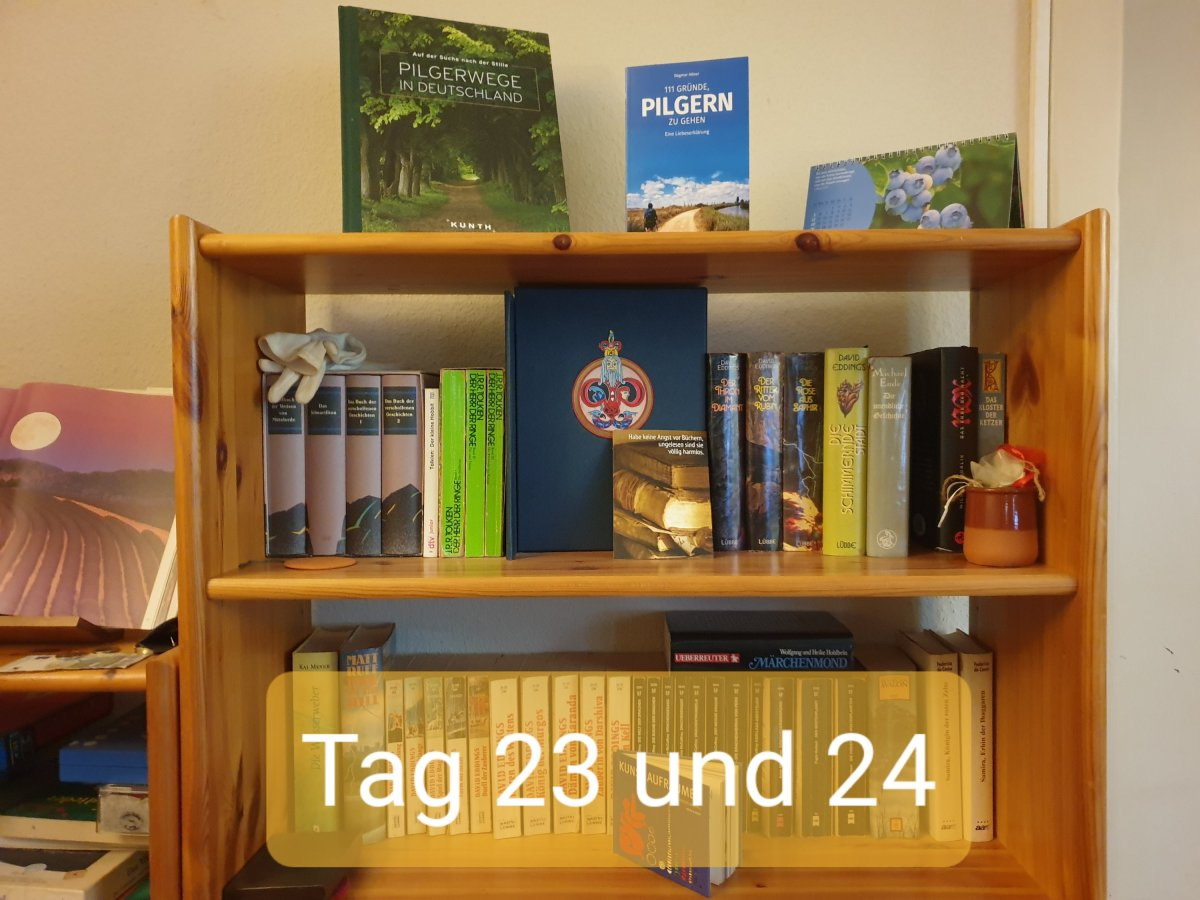 30 Days Book Challenge – Tag 23 und 24